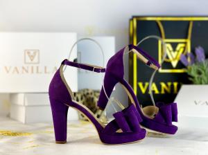 36 Sandale Viena Piele Intoarsa Funda  Promo1