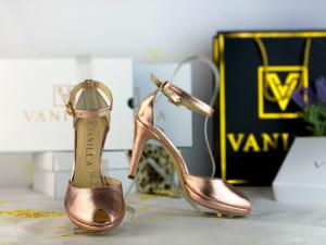 38 Sandale Beijing Sampanie Sifonata Toc Mic Promo0