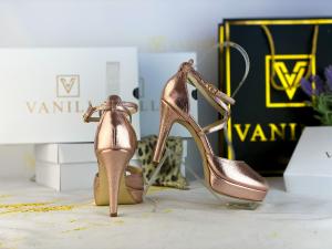 38 Sandale Fabiana Elegance Sampanie Promo0