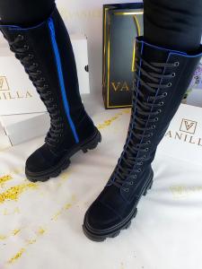 Bocanci Velvet Blue11