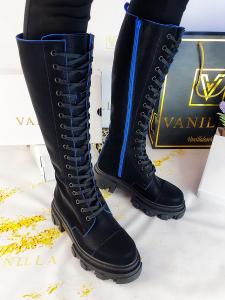 Bocanci Velvet Blue8