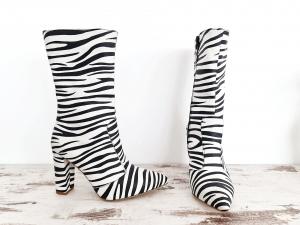 Cizme Teo Zebra4
