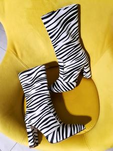 Cizme Teo Zebra0