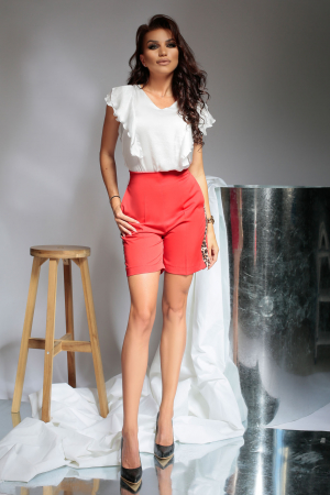 Pantaloni scurti Melia Red [0]