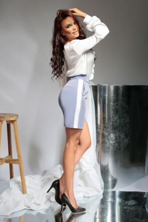 Pantaloni scurti Melia Blue [1]
