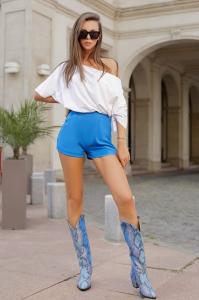 Pantaloni scurti  Sonia Blue1
