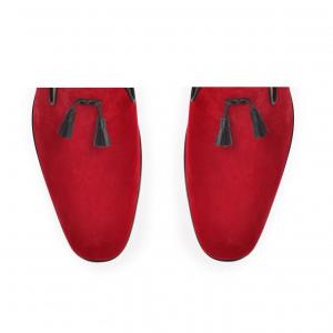 Pantofi Namir Loafers - Red3