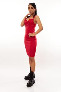 Rochie Malina Red0