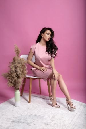 Rochie Marina Pink0