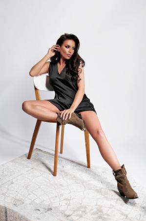 Rochie Melisa Black1