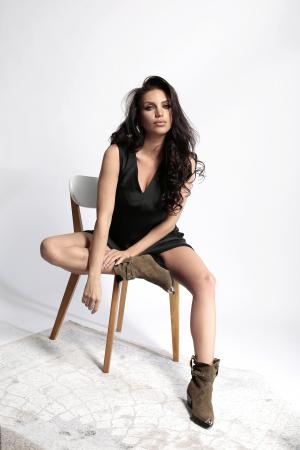 Rochie Melisa Black4