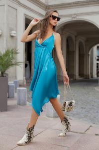 Rochie Melissa Green Blue [1]