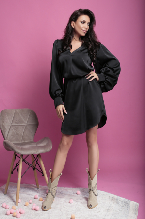 Rochie Otilia Black1