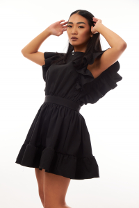 Rochie Petunia Black5