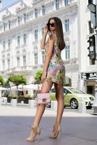 Rochie Tasha Green2