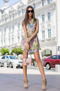 Rochie Tasha Green0