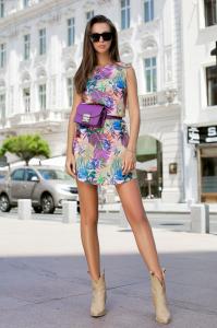 Rochie Tasha Purple0