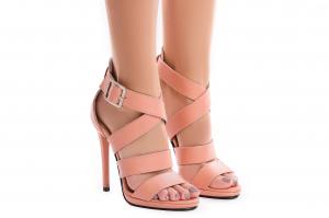Sandale Andra din piele neteda1