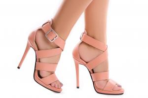 Sandale Andra din piele neteda0