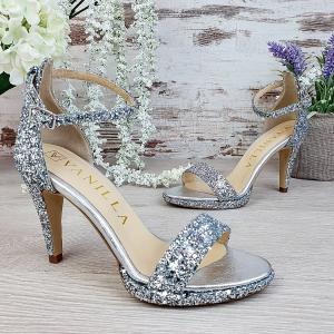 Sandale Ankara Glitter Toc Mic Promo [0]