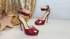 Sandale Baku din piele lacuita3
