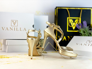 Sandale Berna Gold Toc Mic0