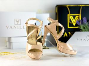 36   Sandale Berna Piele Lacuita Toc Mic Promo0