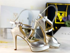Sandale Berna Silver Toc Mic1