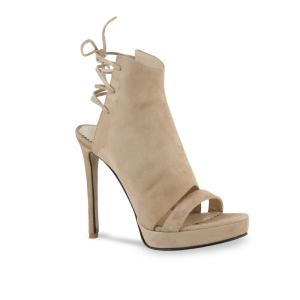 Sandale Monaco din piele intoarsa Bej0