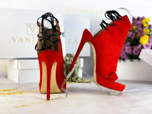 36   Sandale Monaco din piele intoarsa Promo2