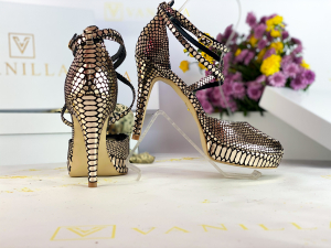Sandale Obsesium Gold Toc Mic0