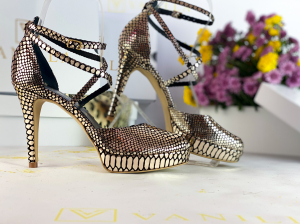 Sandale Obsesium Gold Toc Mic2