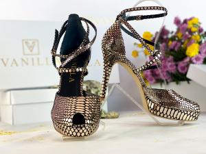 Sandale Obsesium Gold Toc Mic1