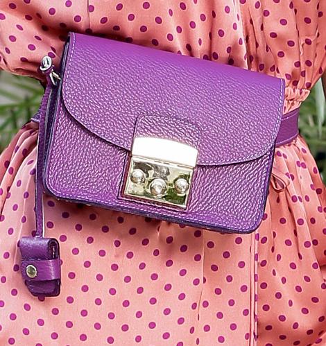Borseta Lisa Purple 2