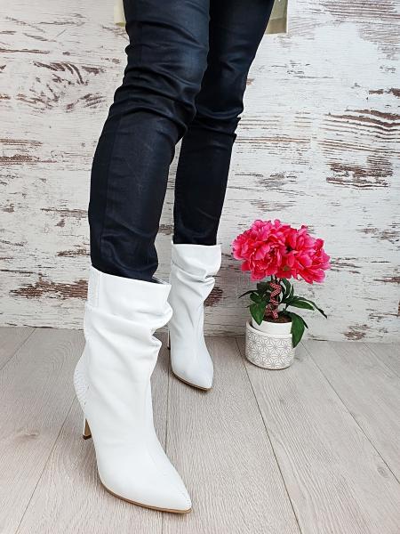 Cizme Fantasia Croco White Promo 4