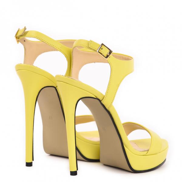 Sandale Atena Piele Neteda 3