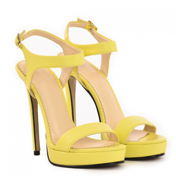 Sandale Atena Piele Neteda 0