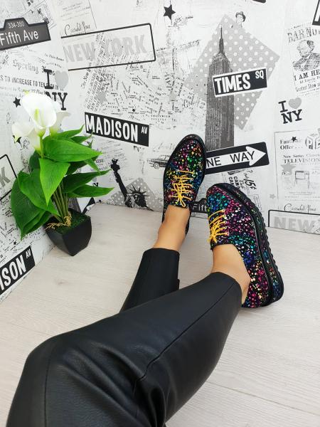 Pantofi casual Tereza multicolor 2