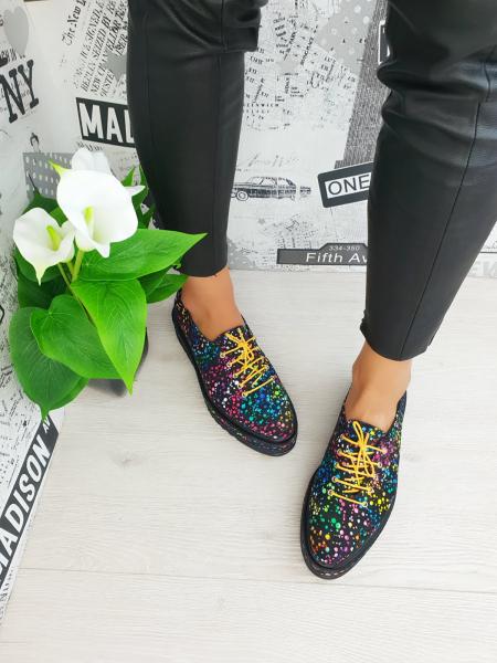 Pantofi casual Tereza multicolor 1