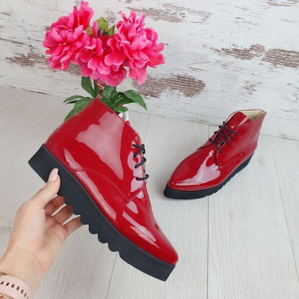 Pantofi Oxford Inalt 0