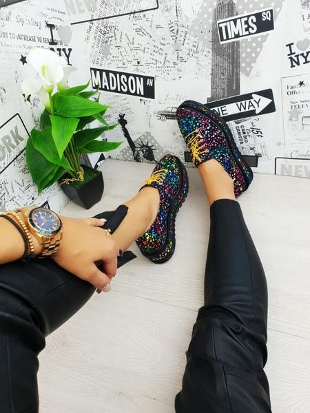 Pantofi casual Tereza multicolor 0