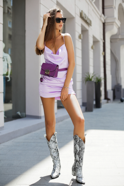 Rochie Penelope Lavender 5