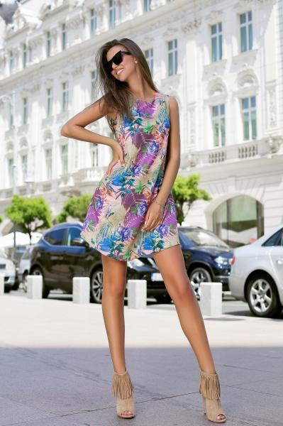 Rochie Tasha Purple 2