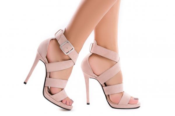 Sandale Andra din piele intoarsa 1