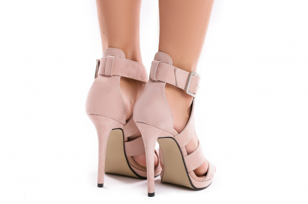 Sandale Andra din piele intoarsa 2