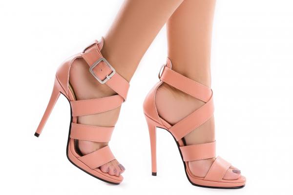Sandale Andra din piele neteda 0