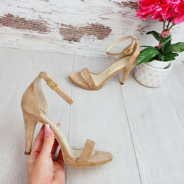 Sandale Ankara Piele Intoarsa Promo 0