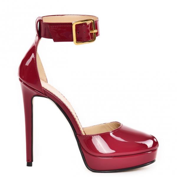 Sandale Baku din piele lacuita 1
