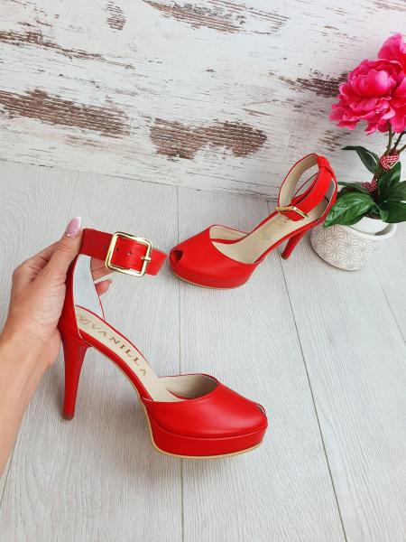 Sandale Baku Piele Neteda Promo 0