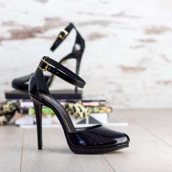 Sandale Beijing Piele Lacuita Promo 0